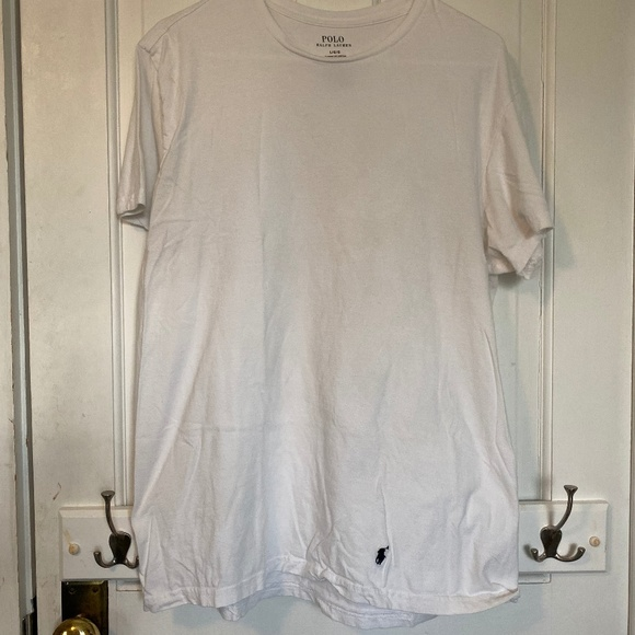 Polo by Ralph Lauren Other - Polo White Tee - Men's T-Shirt - Size is Large